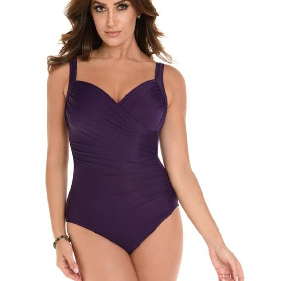 065ce9d118d Miraclesuit Swim | New Sanibel Purple 1pc Suit 16 | Poshmark